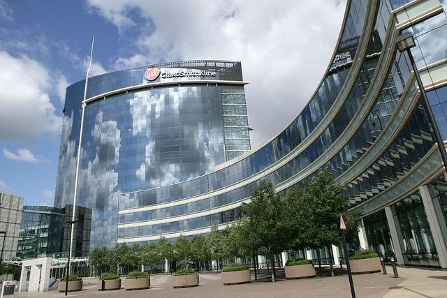 Image: GSK's corporate headquarters in Brentford, London. Photo: courtesy of GlaxoSmithKline plc / flickr.
