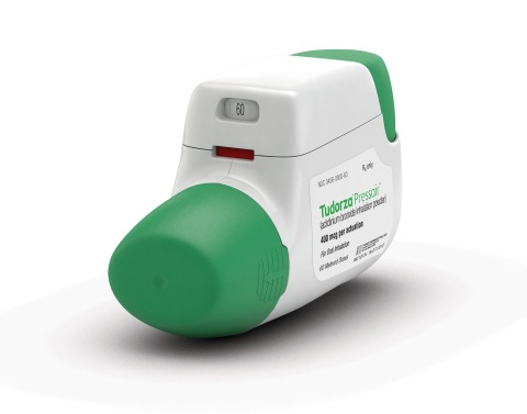 FDA approves TUDORZA PRESSAIR sNDA to include data for reduction of COPD exacerbations and hospitalizations