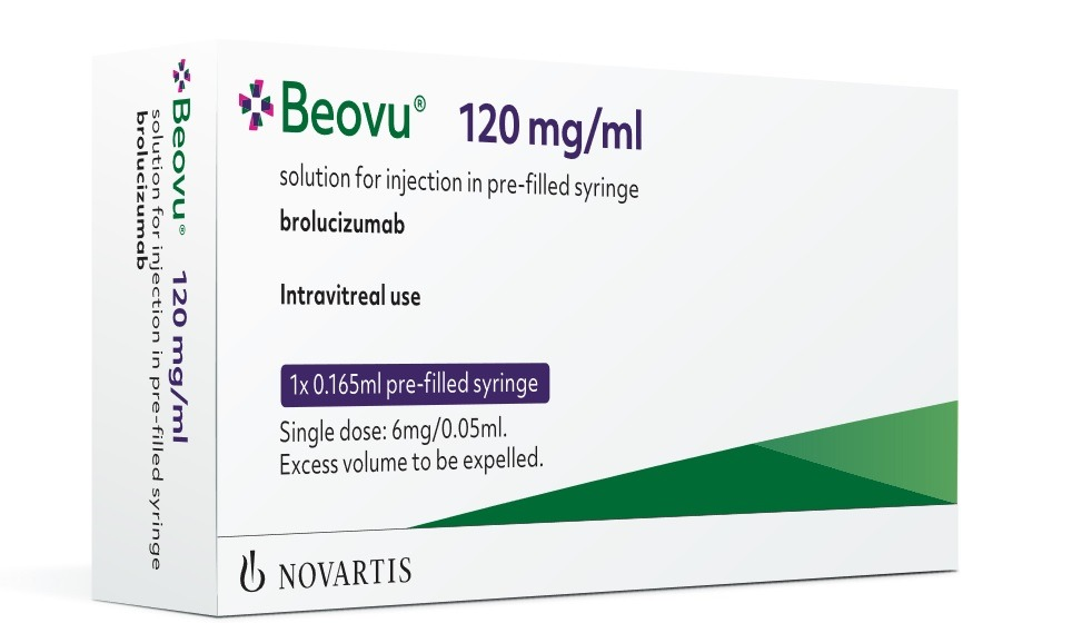 Novartis' Beovu secures FDA approval for wet AMD treatment