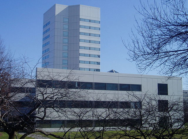 Image: Johnson & Johnson headquarters in New Brunswick, New Jersey. Photo: courtesy of Ekem/Wikipedia.