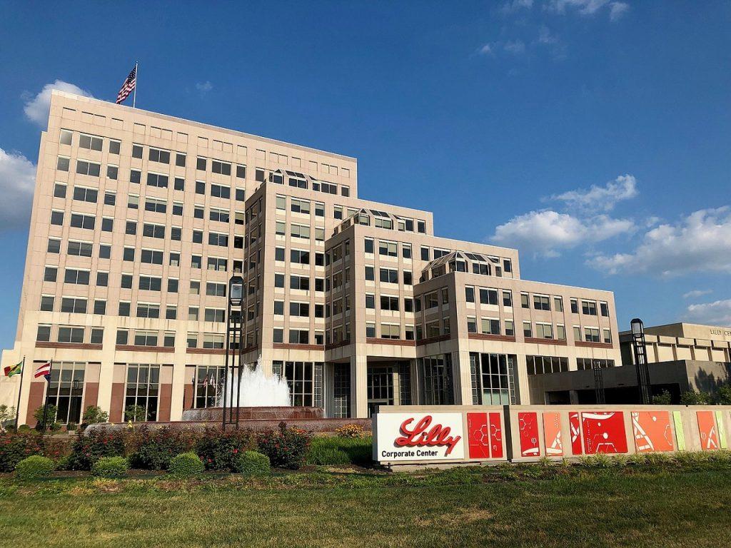 Eli Lilly corporate centre in Indianapolis, Indiana. Credit: Momoneymoproblemz/ wikimedia.